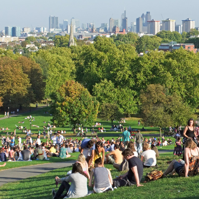"""Primrose Hill, London"" stock image"