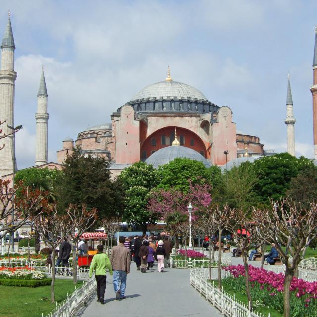 """Hagia Sophia, Istanbul"" stock image"
