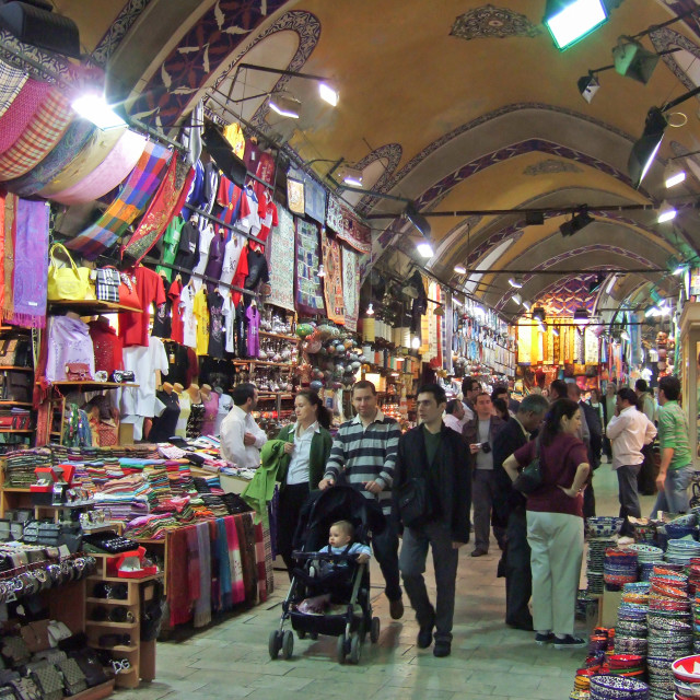 """Grand Bazaar, Istanbul"" stock image"