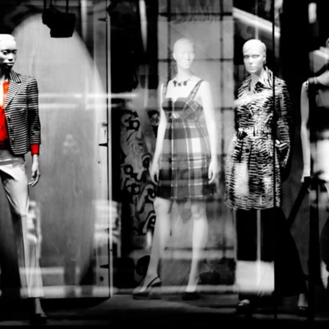 """Window Shopping"" stock image"