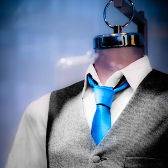 """Vest and Tie"" stock image"