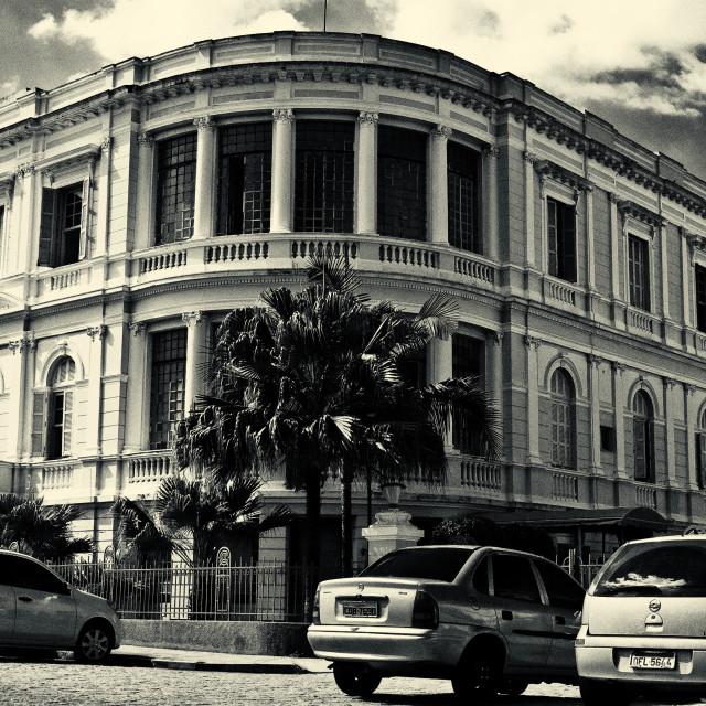 """""""Hospital Santa Casa"""" stock image"""