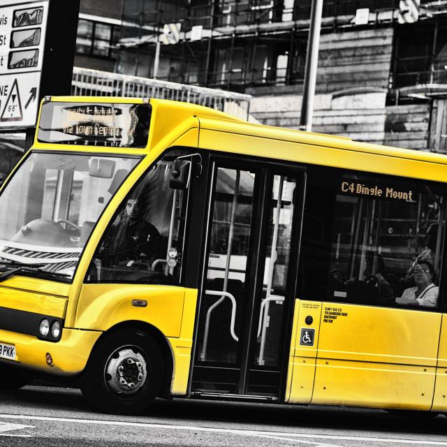 """Bus"" stock image"