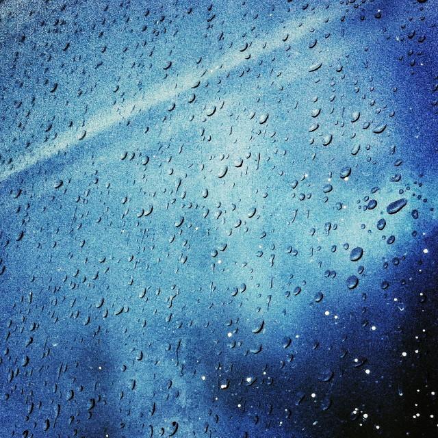 """Blue drops"" stock image"