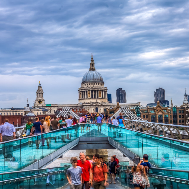 """HDR St Paul's"" stock image"
