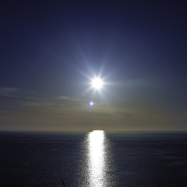"""""""Malta Sunset"""" stock image"""