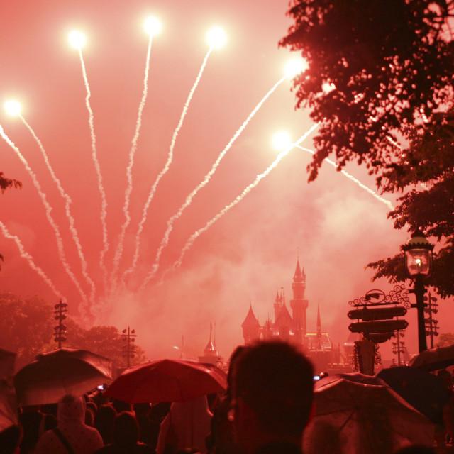 """Disney Fireworks"" stock image"