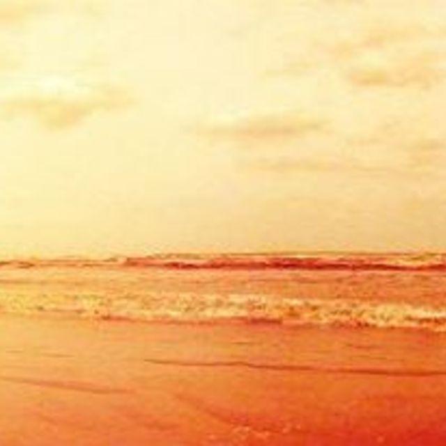 """""""Beach Pinhal"""" stock image"""