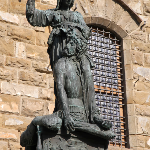 """""""Statue in Florence"""" stock image"""