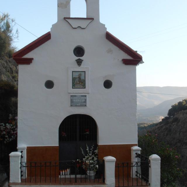 """Spanish Chapel"" stock image"