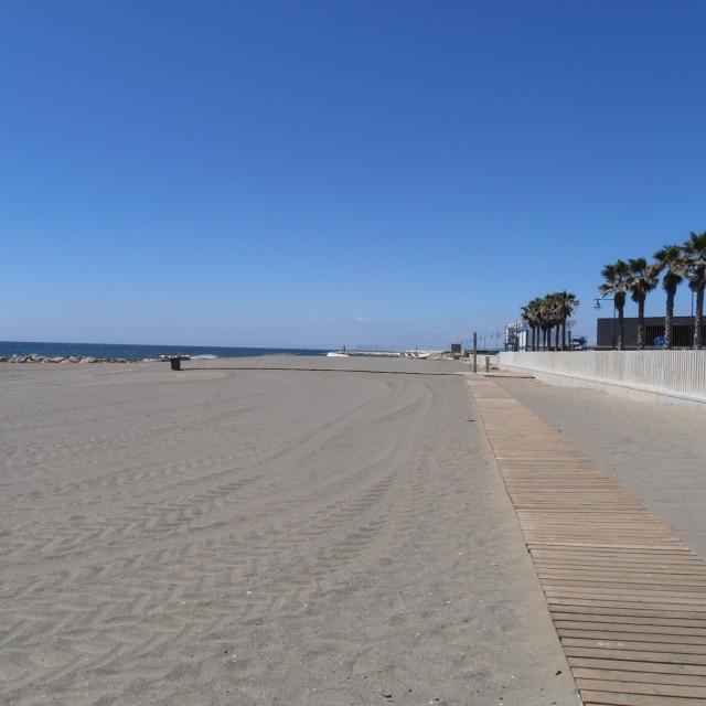 """""""Empty Beach"""" stock image"""