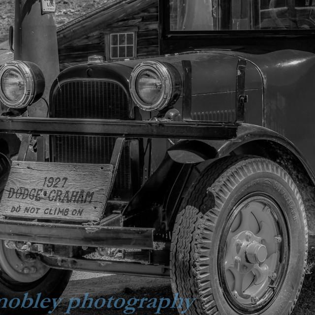 """Bodie Restored Dodge Truck"" stock image"