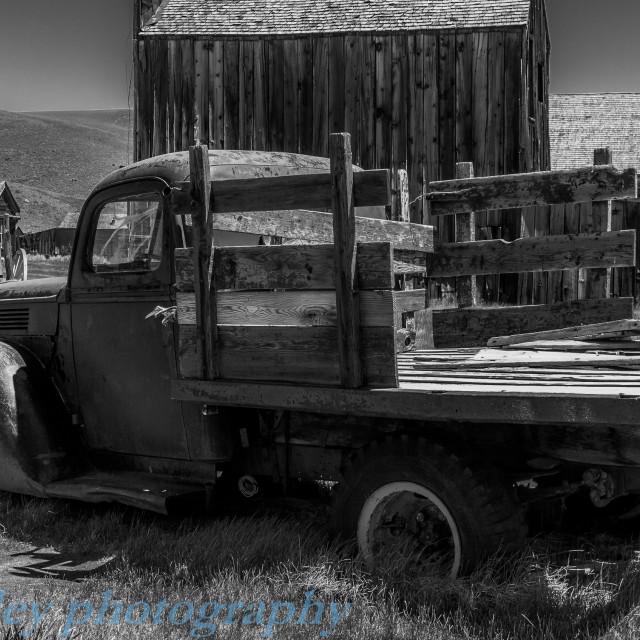 """Abandoned Truck"" stock image"