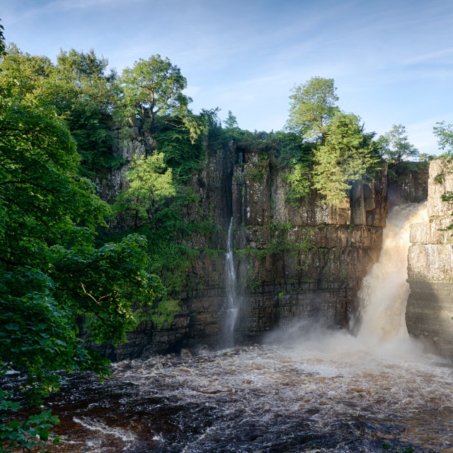"""High Force Waterfall, Teesdale"" stock image"