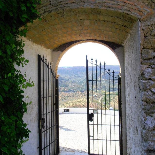 """""""Open Castle Doorway"""" stock image"""