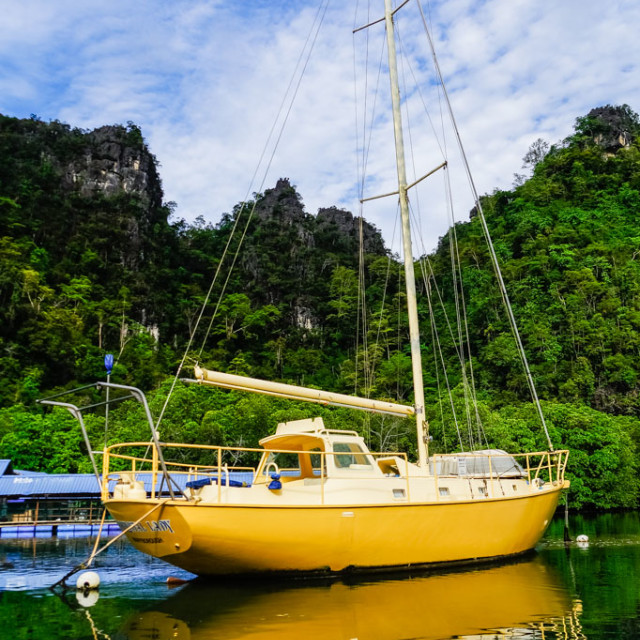 """Yacht"" stock image"
