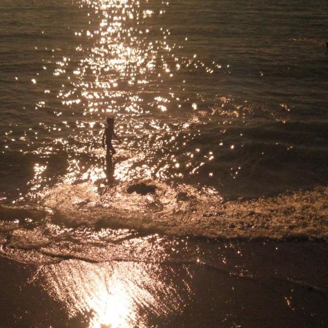 """Golden Beach, Wimereux France"" stock image"