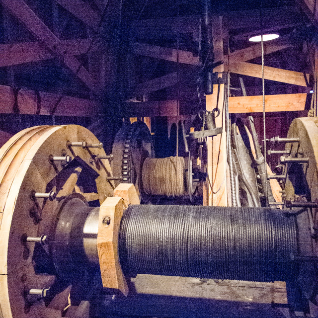 """""""Old oil drilling machinery"""" stock image"""