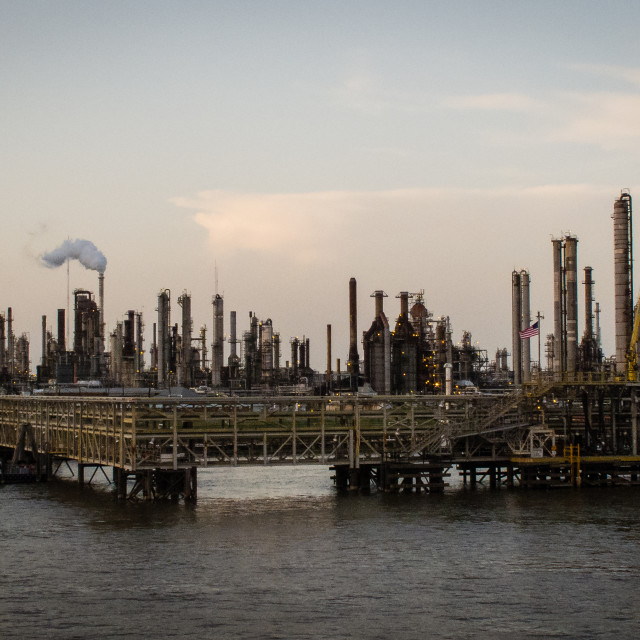 """Refinery"" stock image"