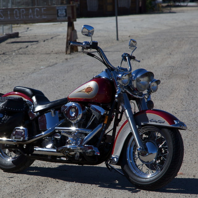 """Hot Harley"" stock image"