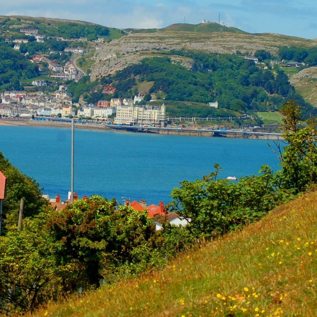 """Great Orme Llandudno North Wales"" stock image"