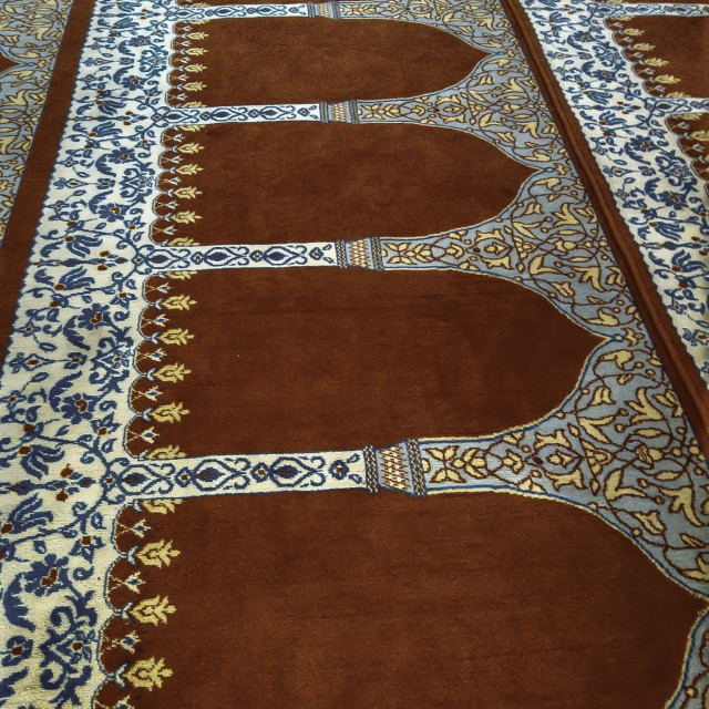 """Carpet in Istanbul Mosque"" stock image"
