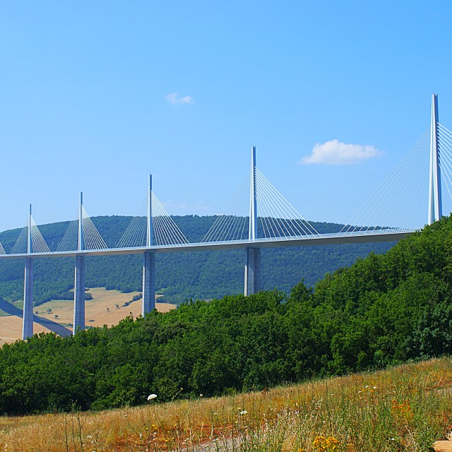 """""""Millau Viaduct"""" stock image"""