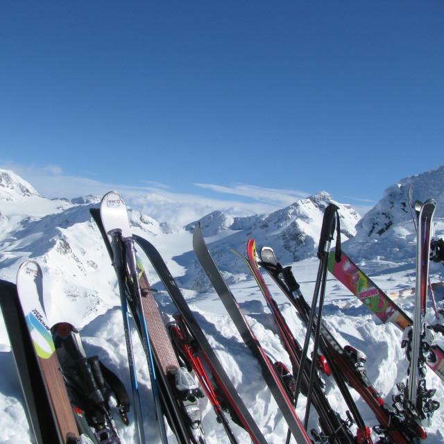 """""""Après-ski"""" stock image"""