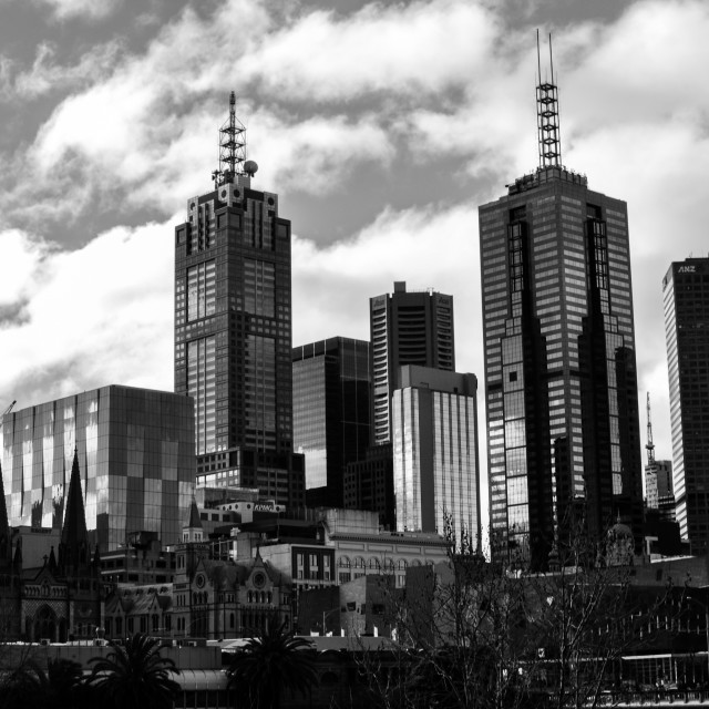 """Melbourne, Australia"" stock image"