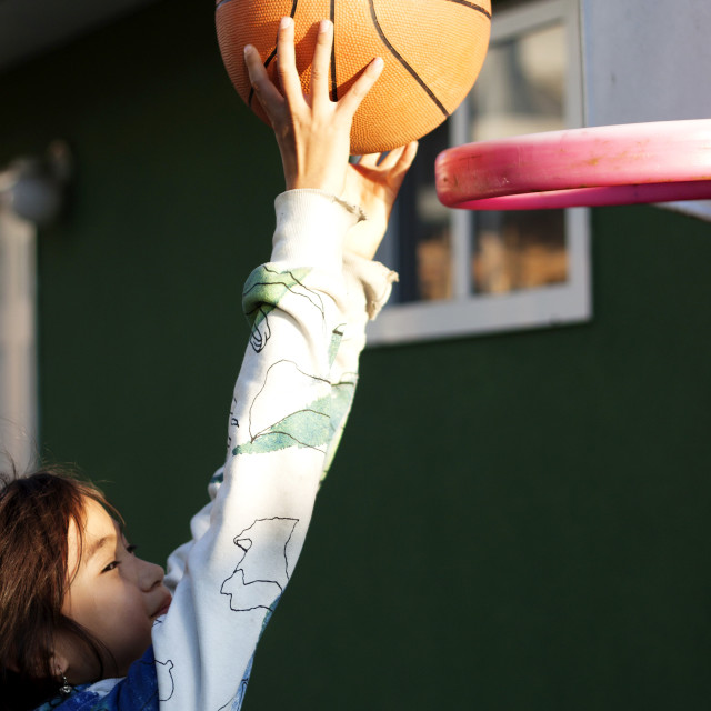 """slam dunk!"" stock image"