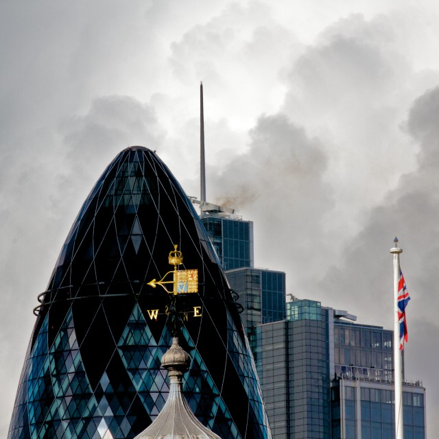 """City of London"" stock image"