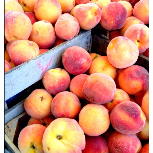 """Sweet Peaches"" stock image"