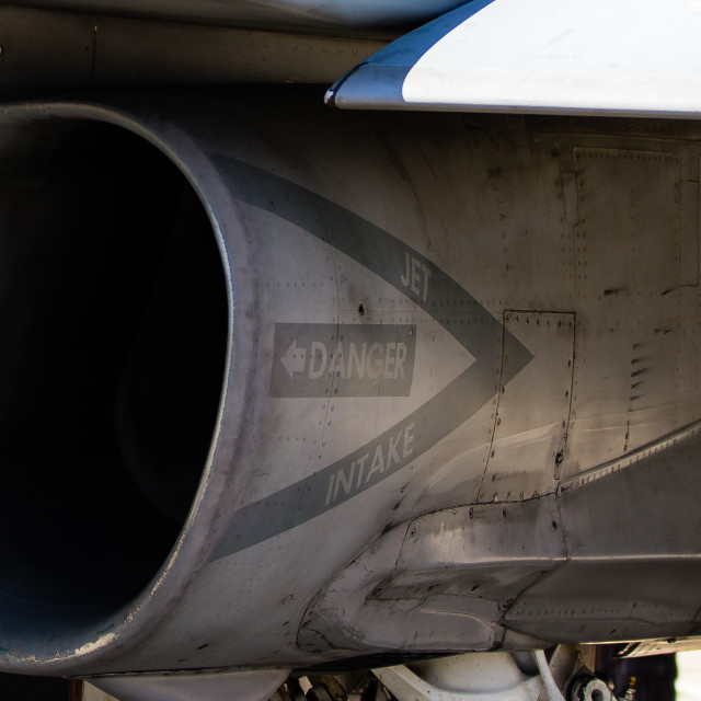 """Jet engine intake"" stock image"