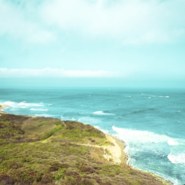 """tip of montauk"" stock image"
