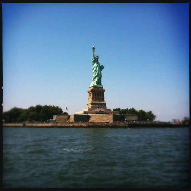 """Statue of Liberty, 2012"" stock image"