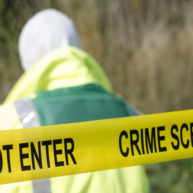 """Crime Scene"" stock image"