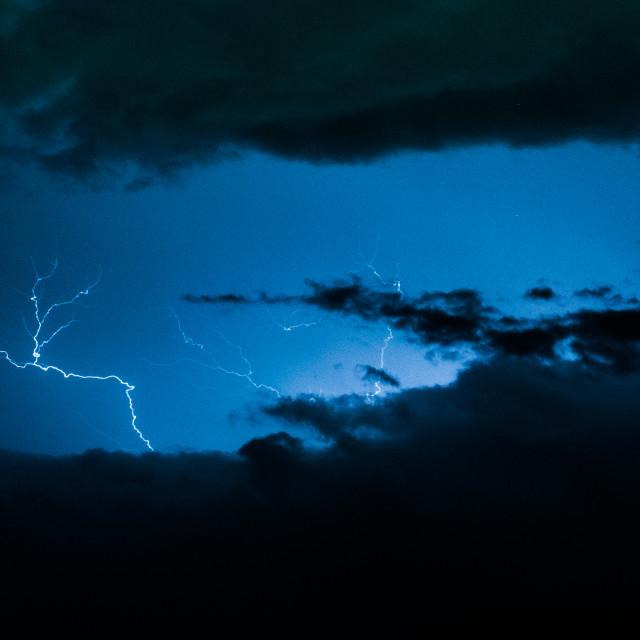 """Lightning #1"" stock image"