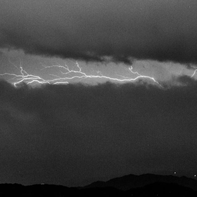 """Lightning #2"" stock image"