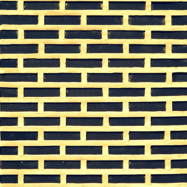 """Black Brick"" stock image"