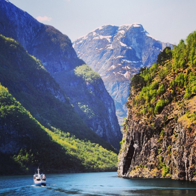 """The Fjords"" stock image"