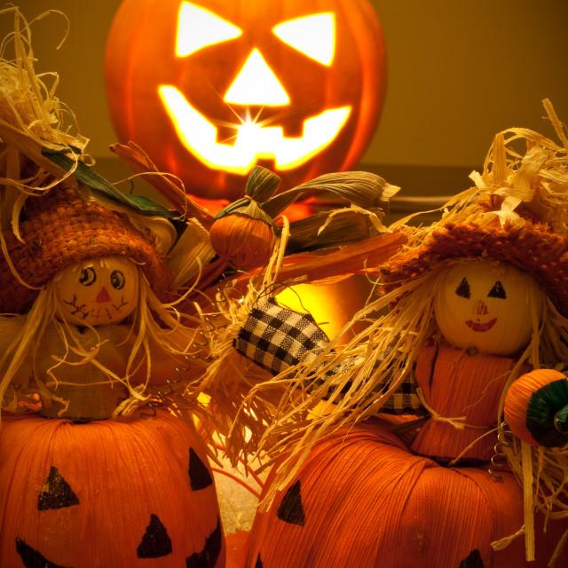 """Halloween Scene"" stock image"