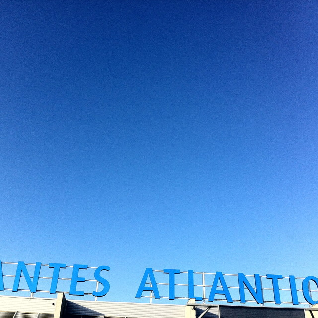 """Nantes Atlantique Aeroport"" stock image"