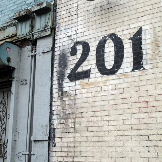 """Room 201"" stock image"