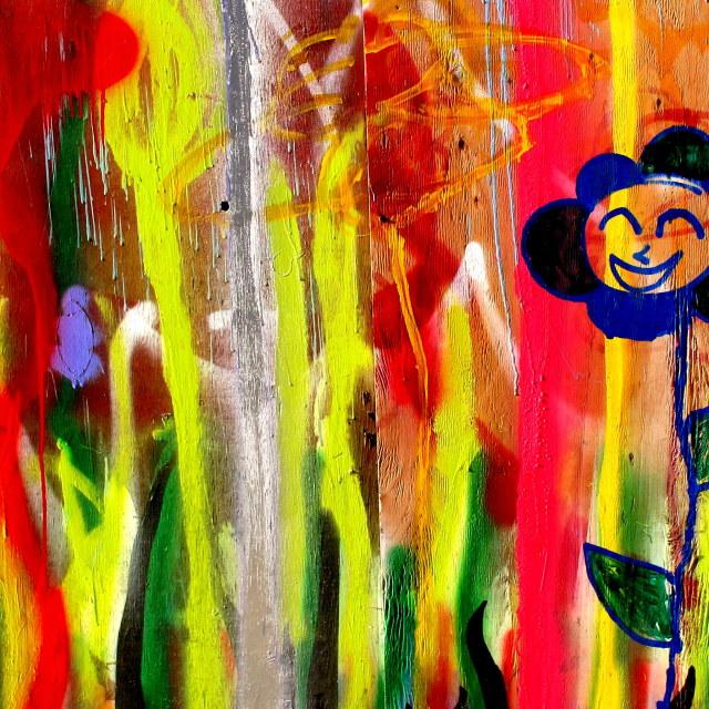 """""""Happy Flower"""" stock image"""