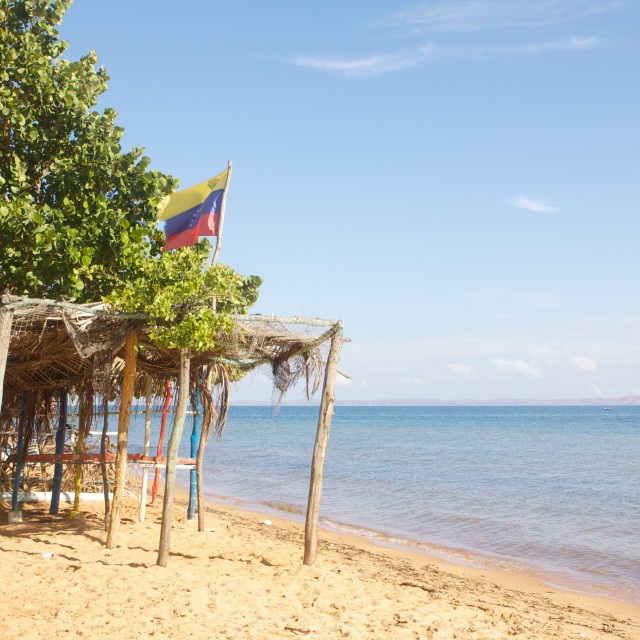 """Venezuelan beach"" stock image"