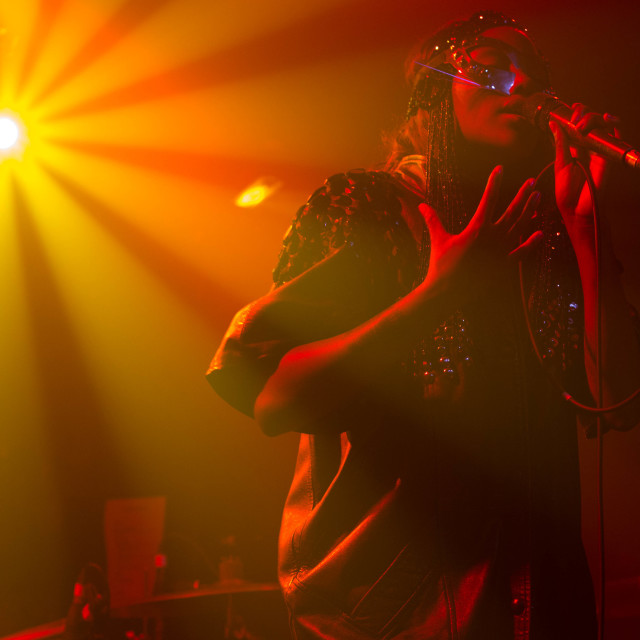"""Lulu James at XOYO"" stock image"