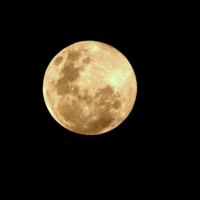 """Super Moon 2013"" stock image"