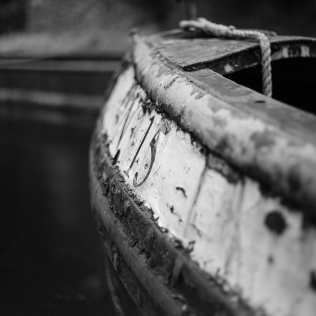 """""""Narrow Boat"""" stock image"""
