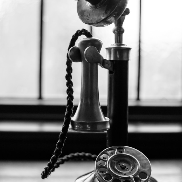 """Candlestick Phone"" stock image"