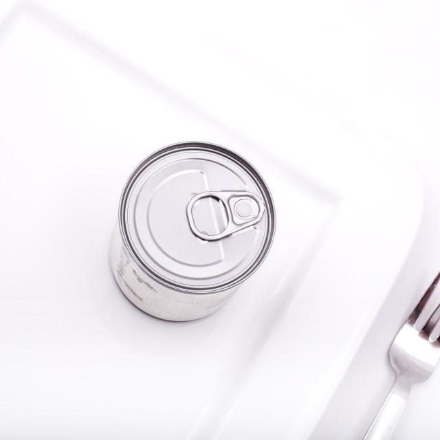 """Tinned food"" stock image"